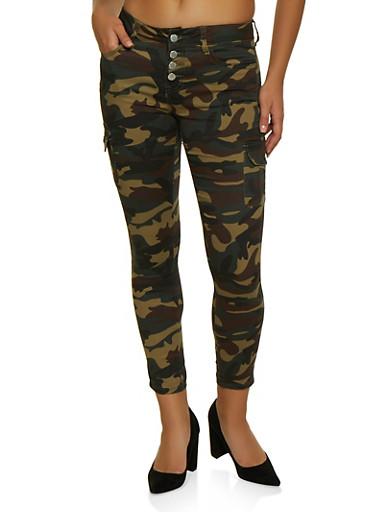 VIP Cargo Camo Jeans,TAN,large