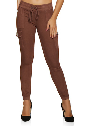 Solid Cargo Joggers | 3074065306720,WINE,large