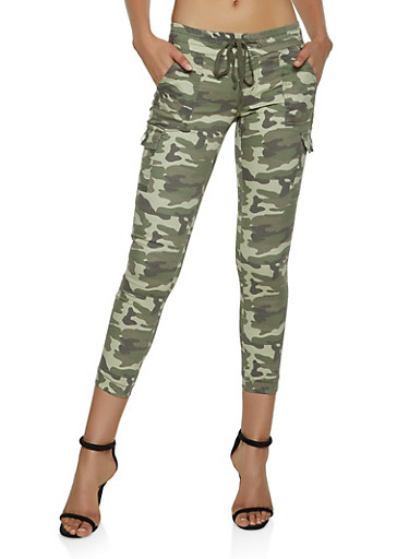 Camo Cargo Joggers | 3074065306867,BROWN,large