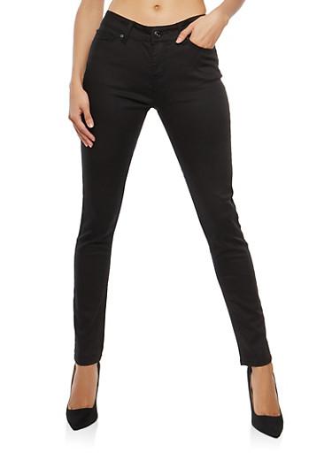 WAX Colored Push Up Skinny Pants - 3074071610031