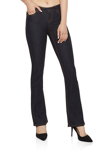 WAX Bootcut Jeans | 3074071610092,BLACK,large