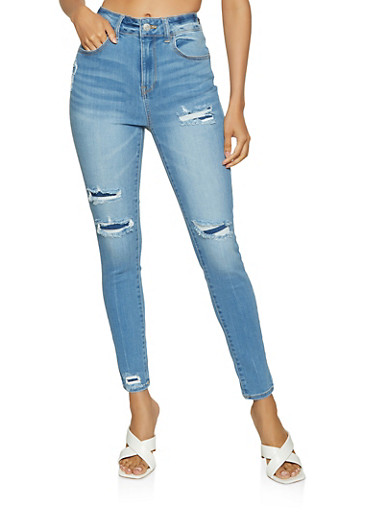 WAX Patch and Repair Skinny Jeans