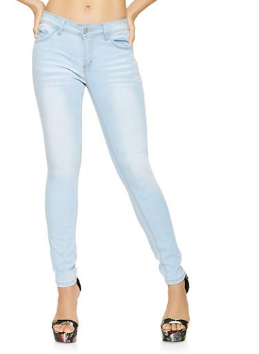 WAX Whisker Wash Jeans,LIGHT WASH,large