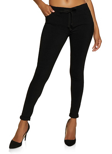Hyperstretch Pull On Pants,BLACK,large