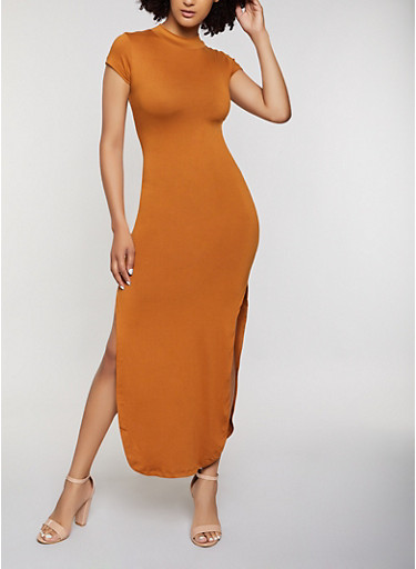 Cut Out Back Maxi Dress by Rainbow