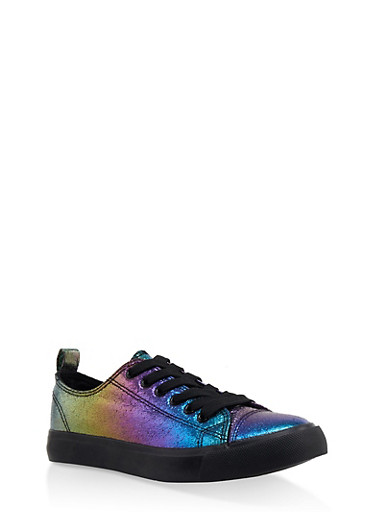 Lace Up Sneakers | 3114062720304,BRIGHT MULTI S,large