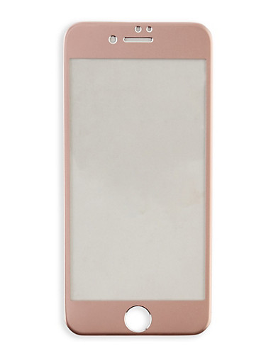 Colored Tempered Glass iPhone Screen Protector,ROSE,large