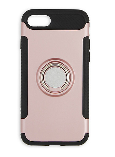 iPhone Ring Stand Case,ROSE,large