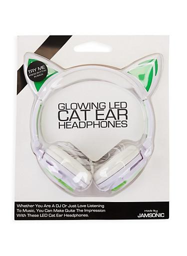Glowing LED Cat Ear Headphones | Tuggl