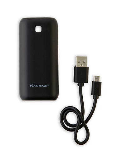 Power Bank Portable Charger,BLACK,large