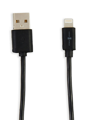 Charge and Sync Lightning Cable,BLACK,large