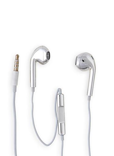 Metallic Earphones | 3120072766931,SILVER,large