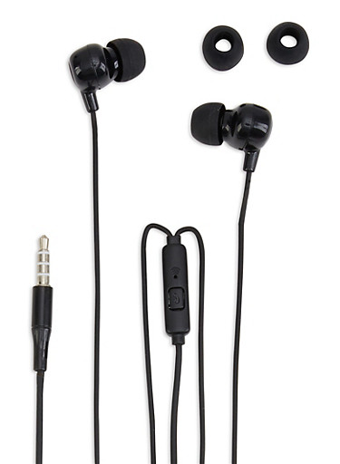 High Bass Stereo In Ear Headphones,BLACK,large