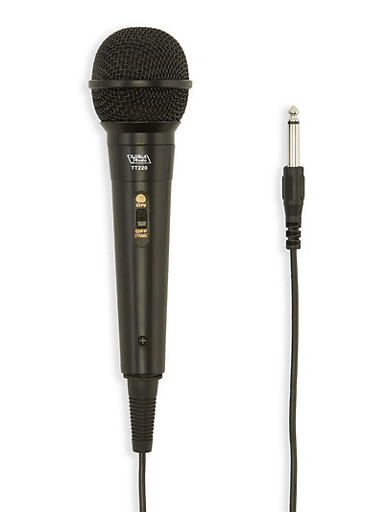 Unidirectional Dynamic Microphone,BLACK,large