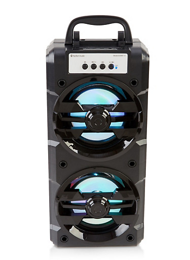 Extra Bass Portable Multimedia Speaker | 700 Watts,BLACK,large