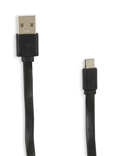 USB Data Cable with Sync and Charging Function,BLACK,large