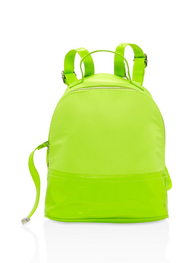 Neon Backpack,LIME,large