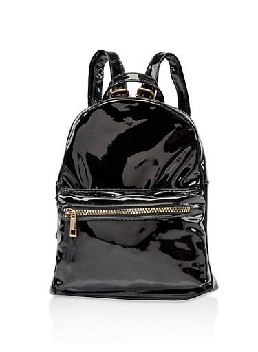 Holographic Backpack,BLACK,large