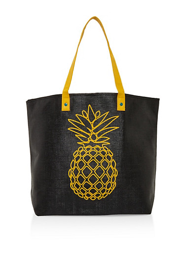 Pineapple Shopper Bag | Tuggl