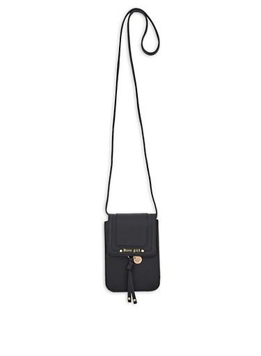 Boss Girl Crossbody Bag,BLACK,large