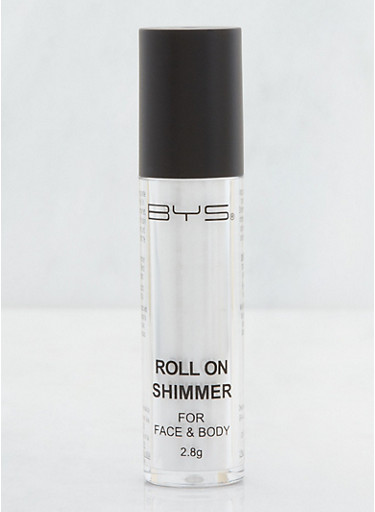 Face and Body Roll On Shimmer,WHITE,large