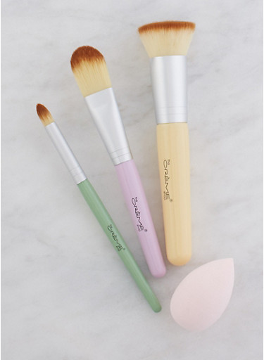 Makeup Brush Tool Set,PINK,large
