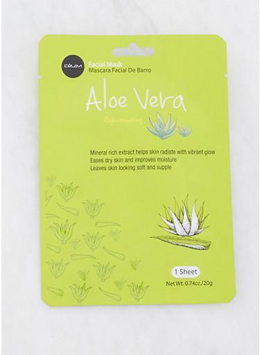 Aloe Vera Rejuvenating Facial Mask,GREEN,large