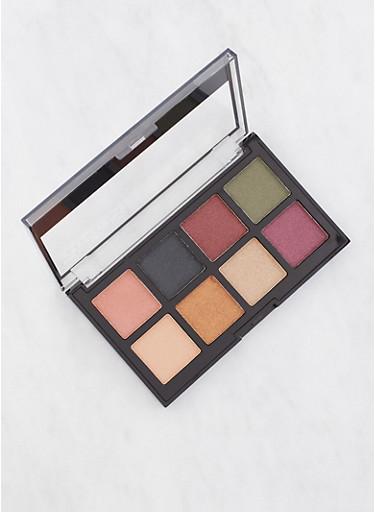 Gel Eyeshadow Palette,BROWN,large