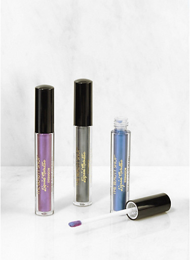 Liquid Metallic Eyeshadow Set,BLUE,large