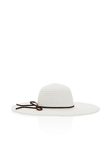 Floppy Straw Sun Hat | Tuggl