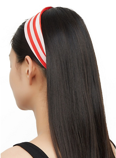 American Flag Headwrap Set,RED,large