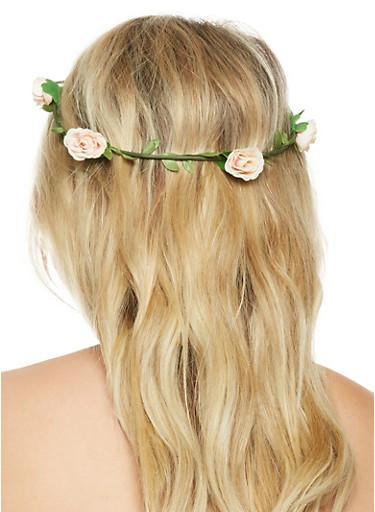 Flower Crown,BLUSH,large