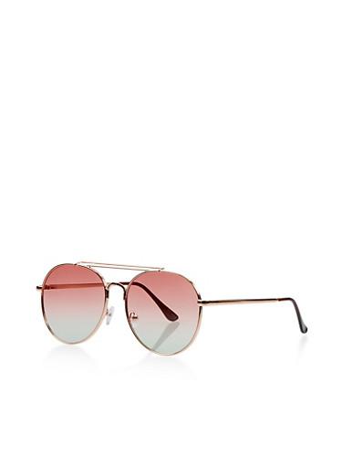Round Aviator Sunglasses   Tuggl