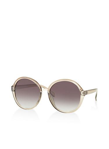 Round Frame Sunglasses | Tuggl