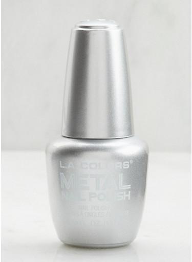 Metal Nail Polish,SILVER,large