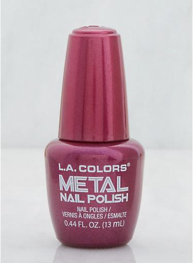 Metal Nail Polish,WINE,large