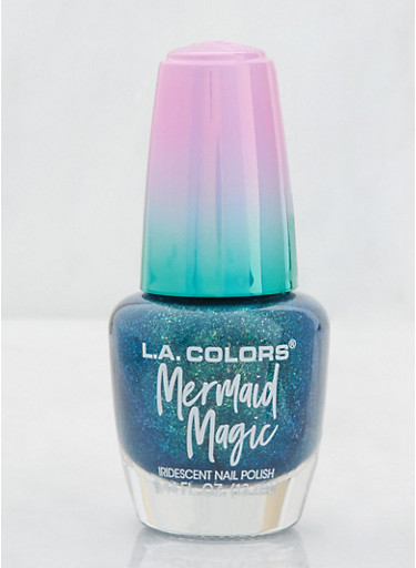 Iridescent Nail Polish,TEAL,large