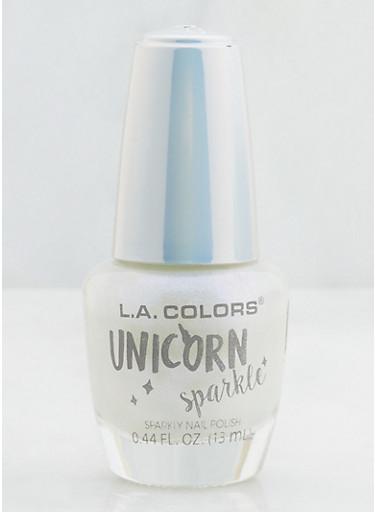 Sparkle Nail Polish,WHITE,large