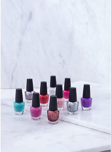 10 Piece Nail Polish Collection,MULTI COLOR,large