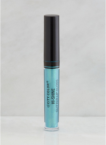 High Shine Glitter Lip Gloss,BABY BLUE,large