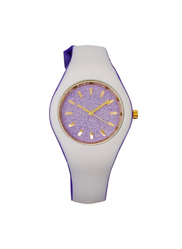 Glitter Two Tone Watch | Tuggl
