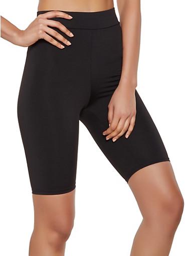 Spandex Bike Shorts | 3411058751010,BLACK,large