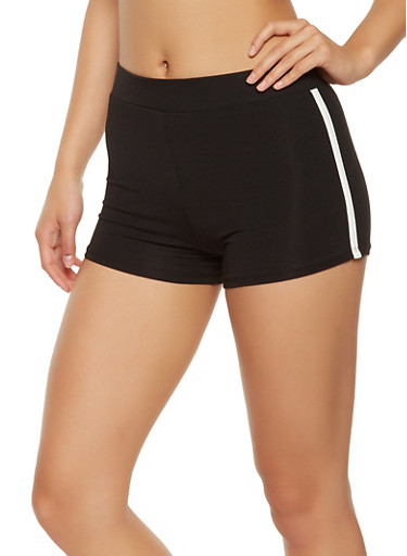 Athletic Shorts,BLACK,large