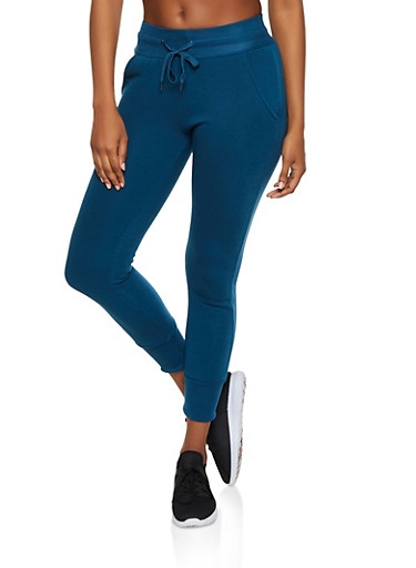 Fleece Lined Joggers | 3413072293535,TEAL,large
