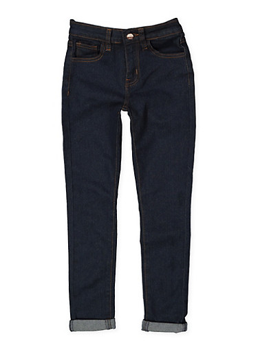 Girls 7-16 Skinny Jeans,DENIM,large