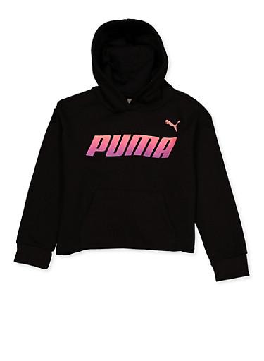 Girls 7-16 Puma Hooded Fleece Sweatshirt - 3639075230010