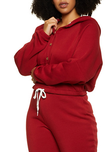 Plus Size Dolman Sleeve Sweatshirt,BROWN,large