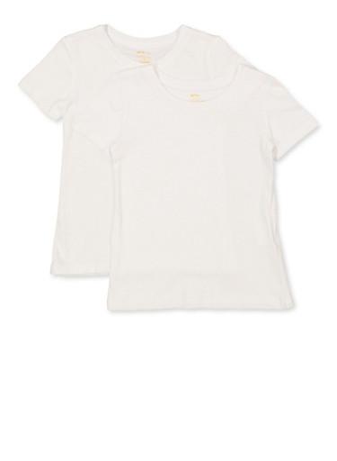 LOREZA /® 3//6 Pack Kids Unisex Vest Short Sleeve T-Shirt Shirt Boys Girls Underwear 100/% Cotton Sizes 2-15 Years