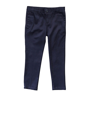 Girls 4-6X Skinny Stretch Twill Pant School Uniform at Rainbow Shops in Daytona Beach, FL | Tuggl