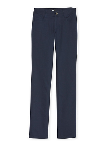Junior School Uniform Chino Pants,NAVY,large